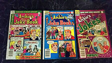 Archie's Joke Book #282 Nov 1981 & #285 May 1982 - Archie's Jokes #519 Aug 1982