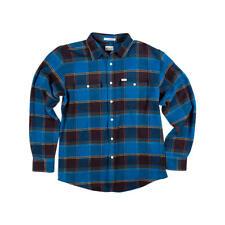 MATIX Perkins Flannel Shirt (XL) Indigo