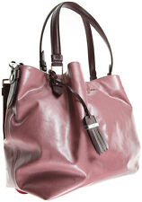 TOD'S AMP SACCA PICCOLA LEATHER HAND BAG TOTE SHOULDER BAG
