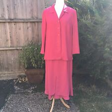 Amazing Quality Fisser Suit EU 46 18/20 Gorgeous Pink. Incredibly Smart. Unique