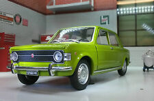 G LGB 1:24 Scale 1969 Fiat 128 Yugo Whitebox Very Detailed Diecast Model Car