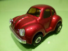 METAL FRICTION POWERED MF145  VW VOLKSWAGEN KAFER BEETLE - RED - EXCELLENT
