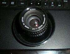 Nikon EL-NIKKOR 1:2.8 F=50mm