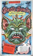 Rare Intact 1979 Whizzer & Chips 'GREMLIN' Halloween Mask Comic Print Giveaway