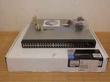 NEW Cisco Linksys SRW2048-EU 48x 10/100/1000 4x SFP Port Gigabit Switch NEU OVP