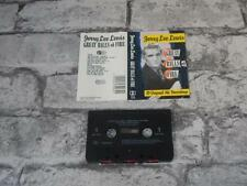 JERRY LEE LEWIS - Great Balls Of Fire / Cassette Album Tape / 1989 Issue / 2408