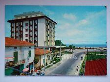 ALBA ADRIATICA Viale Vittoria Hotel Riccione Teramo vecchia cartolina