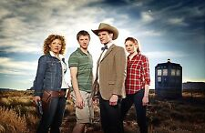 """Dr Doctor Who Imported 17"""" X 11"""" 11th Doctor, River Song and More! Poster Print"""