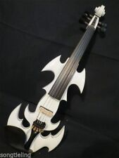 New model crazy SONG art streamline 5string 4/4 electric violin,solid wood #9579