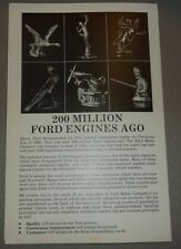 200 Million Ford Engines Ago Power Products Literature