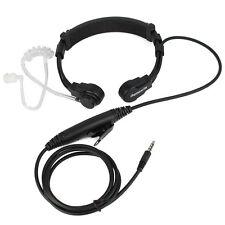 Retevis PTT Throat Mic Earpiece Covert Air Tube Headset for Cellphone US Seller