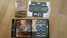 star wars classeur album leclerc shell rogue one 2016 + cosmic box rare ! neuf !