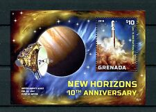 Grenada 2016 MNH New Horizons Mission to Pluto 10th Anniv 1v S/S Space Stamps
