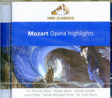 Wolfgang Amadeus Mozart - Opera Highlights (CD HMV/EMI 2005) BRAND NEW