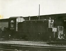 5A699 RP 1950s? JERSEY CENTRAL LINES RAILROAD TRAIN ENGINE #1009