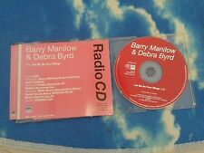 BARRY MANILOW AND DEBRA BYRD ‎– Let Me Be Your Wings UK RADIO 1 TRK PROMO CD