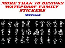 My Family Waterproof Sticker Quality Decal Car Window White Colour family decal