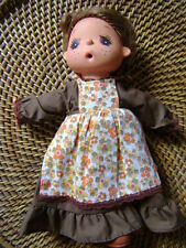 VINTAGE SEKIGUCHI DOLL IN ORIGINAL OUTFIT - 1970's - MAE GEGE - THUMB SUCKING