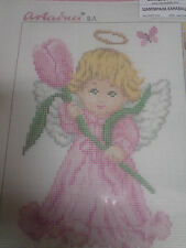 LITTLE ANGEL  Tulip  IS A  CROSS STITCH  CANVAS  ( ANCHOR THREADS )