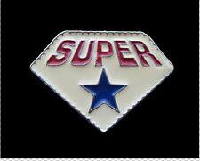 SUPER STAR BLUE COOL BELT BUCKLES BOUCLE DE CEINTURE