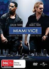 MIAMI VICE Colin Farrell, Jamie Foxx  (DVD, 2006)