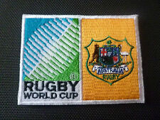 New Rugby World Cup 2015 Badge - Sew on Patch - Australia 10cm x 7.5cm