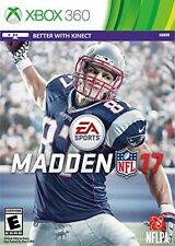 MADDEN NFL 17  XBOX 360 Disc Only