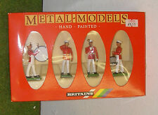 BRITAINS US MARINE DRUM & BUGLE CORPS 7304 METAL TOY SOLDIER MODEL