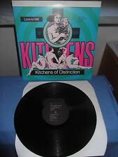 """Kitchens Of Distinction """"Love Is Hell"""" LP ONE LITTLE INDIAN UK 1989"""