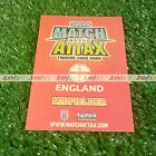 2010 WORLD CUP HUNDRED CLUB LIMITED EDITION MATCH ATTAX ENGLAND CARD 10 LTD 100