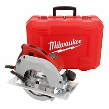 Milwaukee 15 Amp 7-1/4 In. TILT-LOK Corded Circular Saw Power Tool w/ Case
