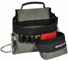 CK MAGMA ELECTRICIANS TOOL BELT BAG - POUCH WITH HAMMER & TAPE HOLDER