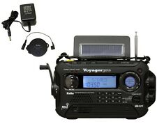 NOAA Weather Radios Kaito Voyager Pro Digital Crank Radio Complete Kit Black