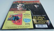 PC DOS: cyberjudas & Pinball 3d-vcr - revista PC power