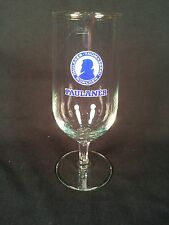 PAULANER STEMMED PILSNER BEER GLASS w/LOGO GERMAN 0.25L - MINT