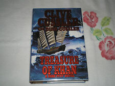 Treasure of Khan by Dirk Cussler and Clive Cussler   -Dual-Signed-