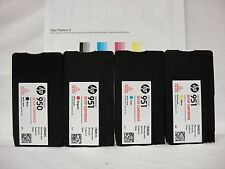 4PK Genuine HP 950 951 setup cartridge for HP officejet pro 8100 8600