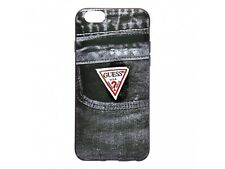 Guess Denim Collection Jeans 02 TPU Hard Case for iPhone 6 - Black -