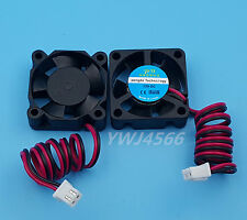 2Pcs 12V 0.08A 30*30*10mm Small Brushless DC Cooling Cooler Fan Fans 3010