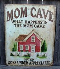 Sign Mom Cave What Happens In The Mom Cave Often Goes Under Appreciated New Meta