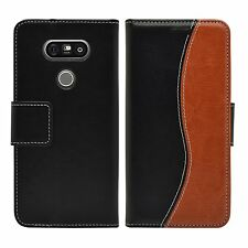 Wallet S-Line Leather Flip Case Cover Pouch Saver For LG G5