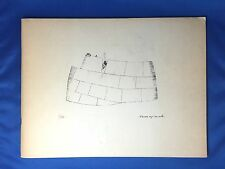 1962 Eskimo Graphic Art Catalogue Inuit Artists Cape Dorset & Povungnituk Canada