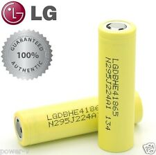 Authentic 2pcs LG HE4 2500mAh 35A | Rechargeable 18650 FT Battery LGDBHE41865