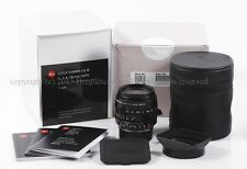 New Leica SUMMILUX-M 28mm f/1.4 ASPH Black 11668 M8 M9 M9P M240 M-P