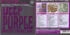 Deep Purple , Deepest Trilogy Box _ 3-CD album set + T-short _ Edition Japan _