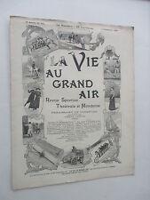 1899 LA VIE AU GRAND AIR MAGAZINE WRESTLING KARA AHMED BALLOONING  SCARCE