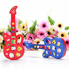 Toddler Baby Electronic Guitar Toy Music Kids Sound Educational Play Fun Color