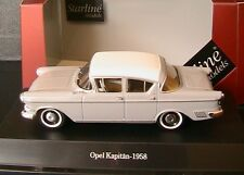 OPEL KAPITAN P 2.5 1958 GREY COMO ALABASTER STARLINE 550130 1/43 DIE CAST MODEL