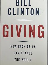 GIVING BY BILL CLINTON *INSCRIBED*FIRST ED*