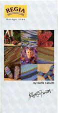 Regia Design Line Sock Knitting Pattern for Men & Women Euro Sizes 36-47